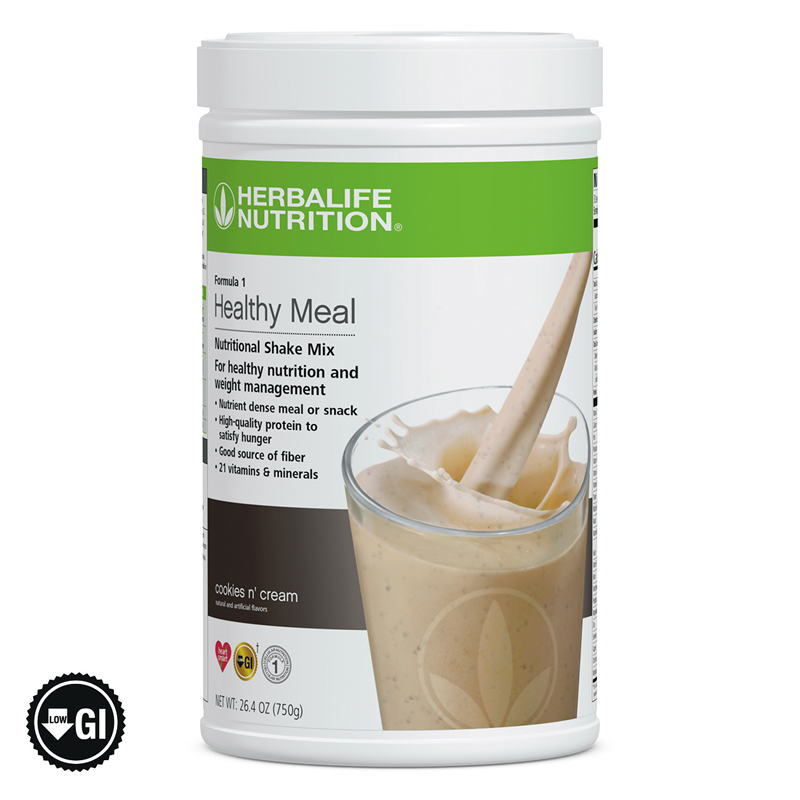 Herbalife Formula 1 Healthy Meal Nutritional Shake Mix Boost Protein Weight Loss