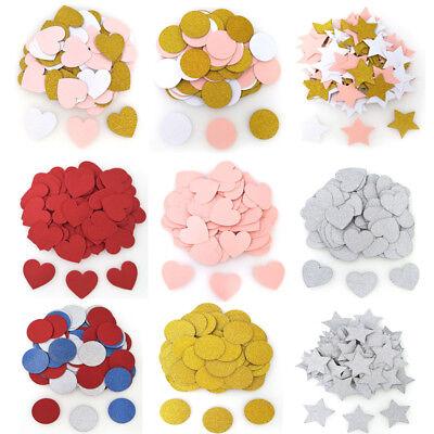 - 100Pcs Gold Glitter Star Table Confetti Wedding Decor Birthday Hen Party Supply