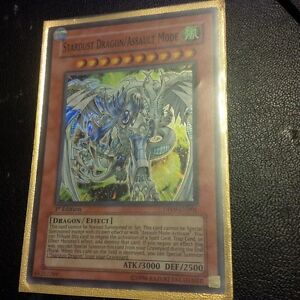 yu-gi-oh Stardust Dragon/Assault Mode DP09-EN001