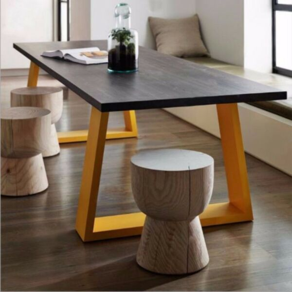 SS 002 Solid Wood Dining Table Stool