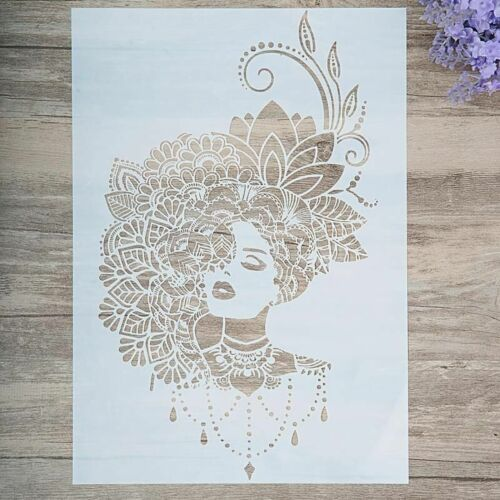 `Layering Stencils For Wall Painting Scrapbooking Template Decorations DIY