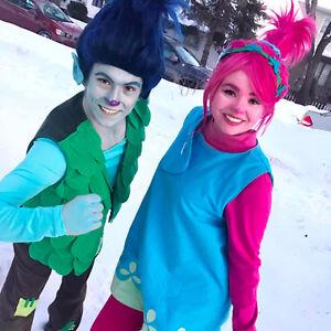 Poppy & Branch from TROLLS - Winnipeg Birthday Entertainment