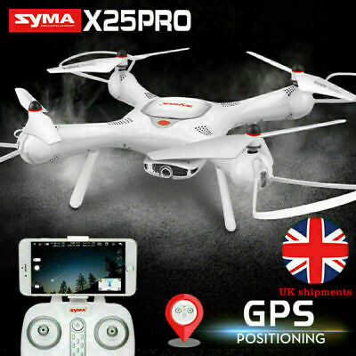 GPS RC Quadcopter Drone Syma X25PRO Follow Me FPV Selfie 720P Rotated Camera New