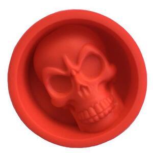 3D Skull silicone cake mould halloween skeleton sugarcraft fondant