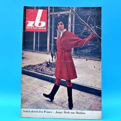 DDR Zeit im Bild ZB NBI 4/1969 Erfurt Stendal KPD Moskau Afrika Skirennen