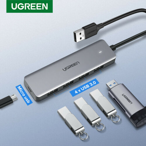 Ugreen USB 3.0 Hub Multi USB Splitter with Micro USB Charge