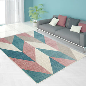 Vintage Pink  Area Rug,Living Room,Bedroom,Kids Room