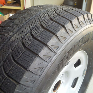 4 Michelin X Snow Tires Like New London Ontario image 1