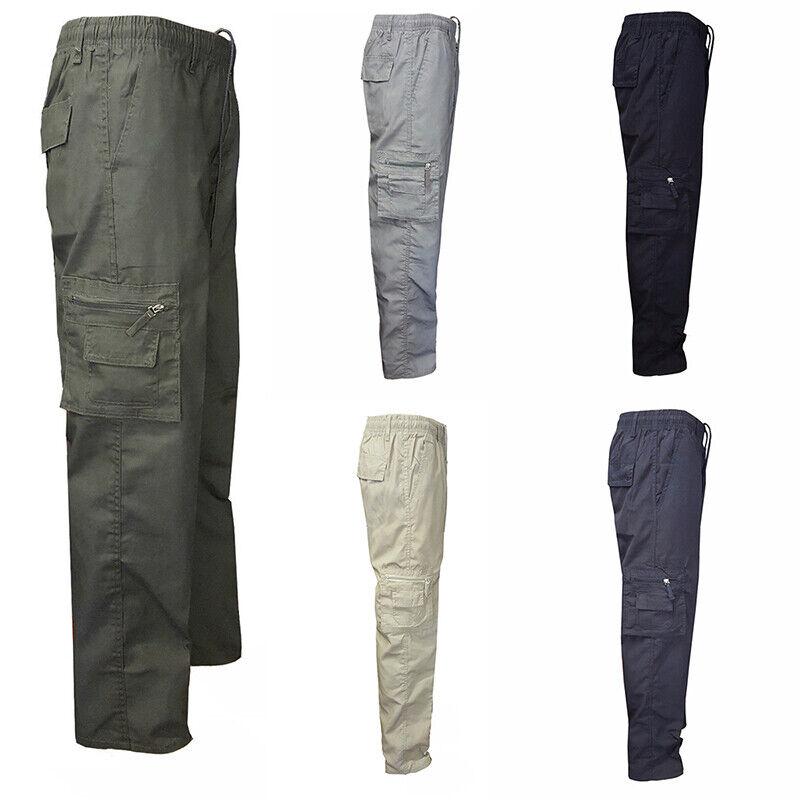 Men Work Tactical Pants Military Industry Combat Cargo Slacks Combat Trousers