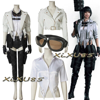 New DMC Cosplay Costume Devil May Cry 5 Lady Suit Customize Halloween Clothes
