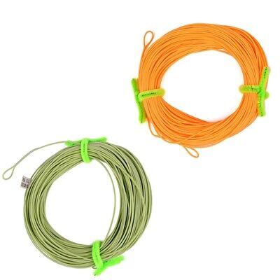 100FT Weight Forward Floating Fly Fishing Line WF-2F/3F/4F/5F/6F/7F/8F Line US (Weight Forward Floating)