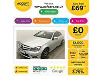 Mercedes-Benz C250 FROM £69 PER WEEK!