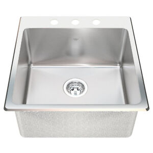 Kindred Stainless steel sink	QSL1515/6