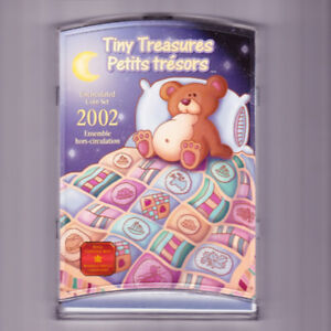 TINY TREASURES 2002 CANADIAN COIN COLLECTION SET