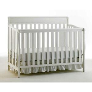 Graco Stanton 4-in-1 Convertible Crib-White
