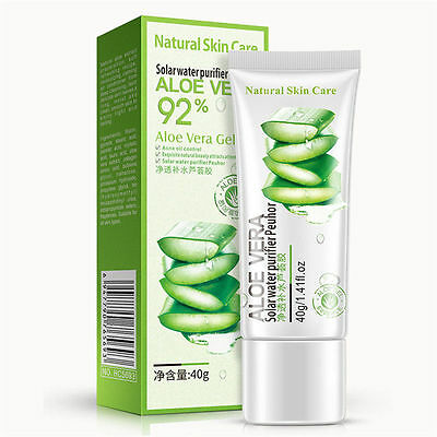 Aloe Vera Gel Face Moisturizer Anti Wrinkle Cream Acne Scar Whitening Skin Care