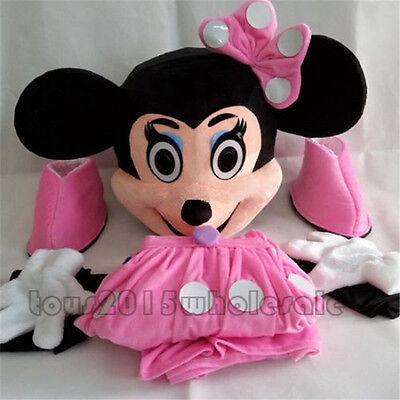 Minnie Mouse Costume Cheap (2019 Cheap Hot Minnie Mouse Adult Mascot Costume Party Clothing Fancy Dress)