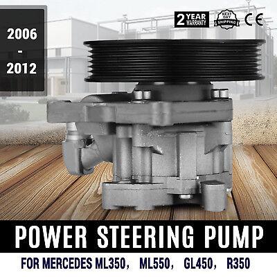 Power Steering PumpFor Mercedes-Benz ML350 ML550 GL450 R350 Oem Top Pro GREAT Oem Power Steering Pump