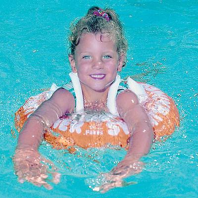 Schwimmtrainer Schwimmhilfe Schwimmring Babyschwimmring Reifen orange Freds