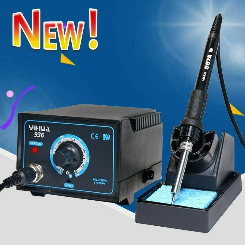 936 SMD Soldering Iron Station 110V Soldering Rework Electric Welding Machine