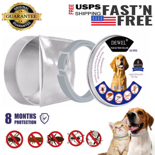 63cm Dewel Flea and Tick Collar for Small Medium Large Dogs