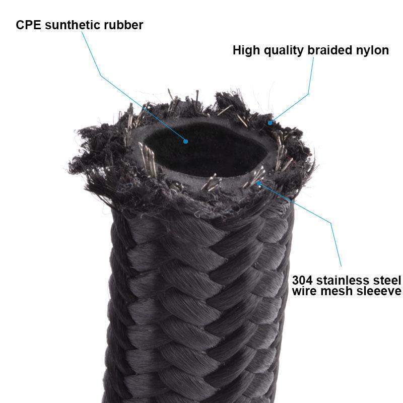EVIL ENERGY 10AN Nylon Braided CPE Fuel Line Kit 10FT