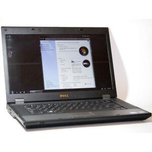 """Dell Latitude E5510 Laptop i7 2.80GHz WiFi 4GB RAM 320GB 15.6"""""""