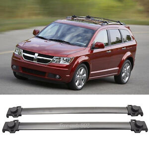 Fit For 09-15 Dodge Journey OE Style Black Roof Rack Cross Bar L