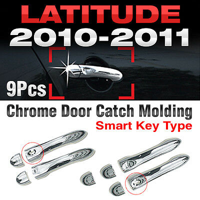 Chrome Door Handle Cover Trim Molding B817 For RENAULT 2010-2011 Latitude SM5