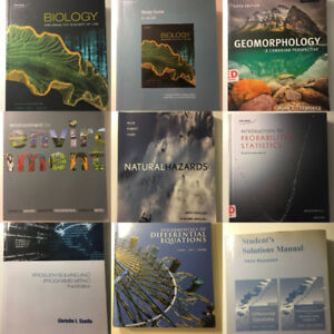 Environmental Science/Biology/Computer Science Textbook for Sale