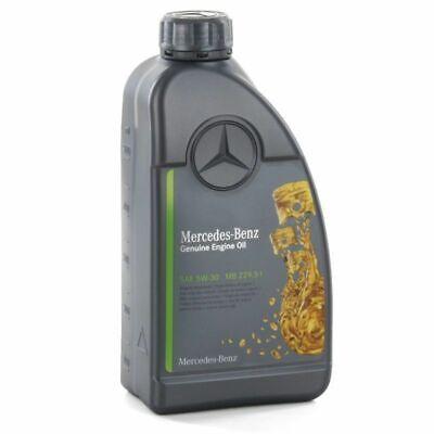 1 Liter Original Mercedes Benz MB 229.51 5W-30 Motoröl 5W30 Genuine Engine Oil