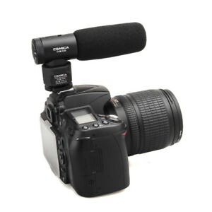 Commlite CVM-V20 CoMica Directional Condenser Shotgun Video Mic