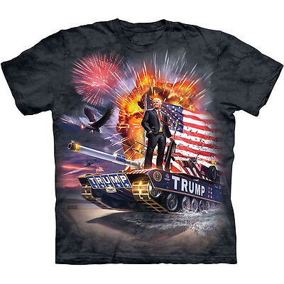 The Mountain Epic Donald Trump President Make America Great Uniesex T Shirt
