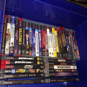 PS3 / PS4 games for sale