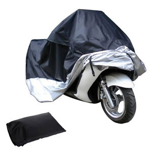 Waterproof-Storage-Cover-For-Motorcycle-Motorbike-Scooter-Moped-XL-L-Sizes