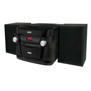 Système audio à 3 CD radio am/fm de RCA ( RS22363 )