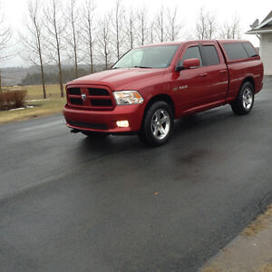 2009 Ram 1500 Sport Pickup Truck with plow