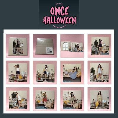 TWICE Official POSTCARD SET Fan Meeting ONCE HALLOWEEN Goods Post Card 9pcs](Halloween Meetings)