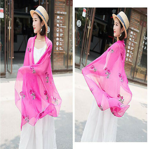 Temperament Womens Scarves Long Shawl Capes Shawls And Wraps