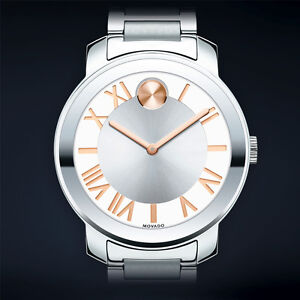 MOVADO BOLD Luxe Stainless Steel Watch