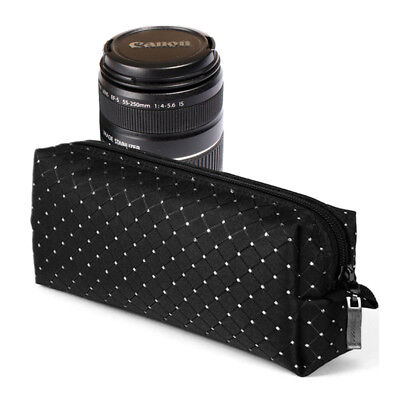 Burnoaa Memory Foam Lens Pouch Bag CR for Canon EF-S 18-55mm IS 55-250mm Zoom