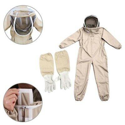 Professional Ventilated Full Body Beekeeping Suit Bee Keeping Protective Jacket