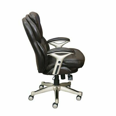 Serta Works Back In Motion Executive Office Chair In Chestnut