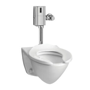 Toto CT708E01 Commercial Flushometer Wall Hung Toilet ADA