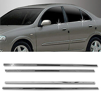 Stainless Steel Chrome Window Pillar Molding 6P For RENAULT 02-2009 Scala SM3