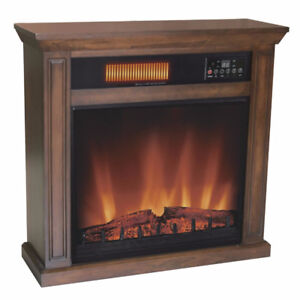 Infrared Quartz Electric Fireplace - NEW