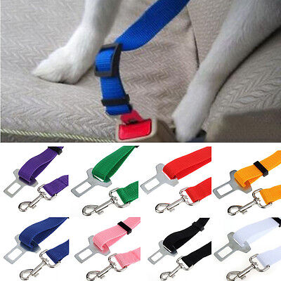 New Car Seat Belt Seatbelt Harness Lead Clip Pet Cat Dog Safety Belt Accessory