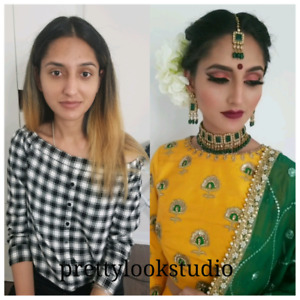 Bridal/party makeup and hairstyling