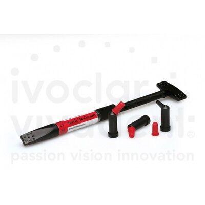 Ivoclar Vivadent Tetric N Ceram Light Curing Radiopaque Nano Hybrid Composite