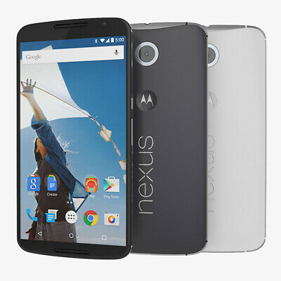 NEW Motorola Nexus 6 XT1100 32GB GSM UNLCOKED Android 4G Smartphone Blue White